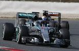 Nico Rosberg - Mercedes - Formel 1-Test - Barcelona - 1. März 2015