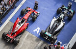 Nico Rosberg Sebastian Vettel - GP China 2016