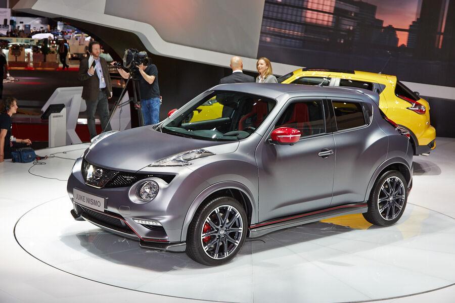 Suv neuheiten auf dem genfer autosalon 2014 neue studien for Nissan juke dauertest