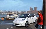 Nissan Leaf, Seitenansicht, Oslo
