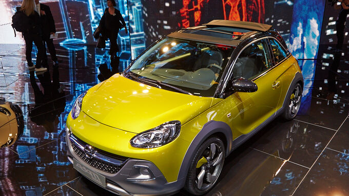opel adam rocks auf dem genfer autosalon 2014 kleiner abenteurer auto motor und sport. Black Bedroom Furniture Sets. Home Design Ideas