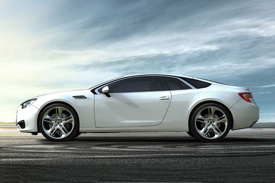 Opel enigma der opel calibra für die zukunft