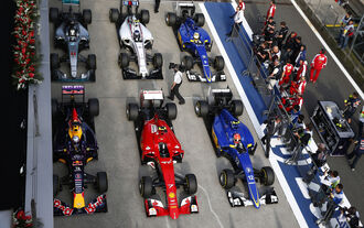 Parc Fermé - Formel 1 - GP China - Shanghai - 11. April 2015