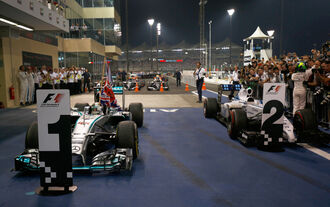 Noten GP Abu Dhabi 2014