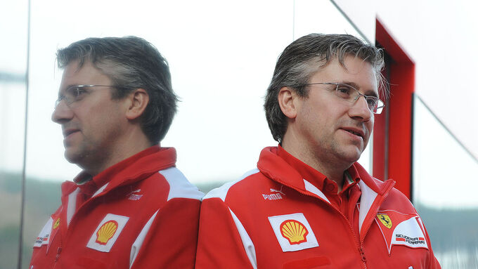 Pat Fry, Ferrari