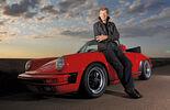 Porsche 911 Carrera Cabrio, Frontansicht, Walter Röhrl