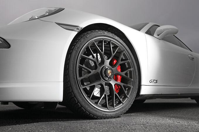 Porsche 911 Carrera GTS, Wheels, Rims, Brakes
