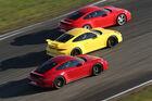 911 Carrera S, GTS und GT3