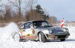 Porsche 911, Driften, Schnee