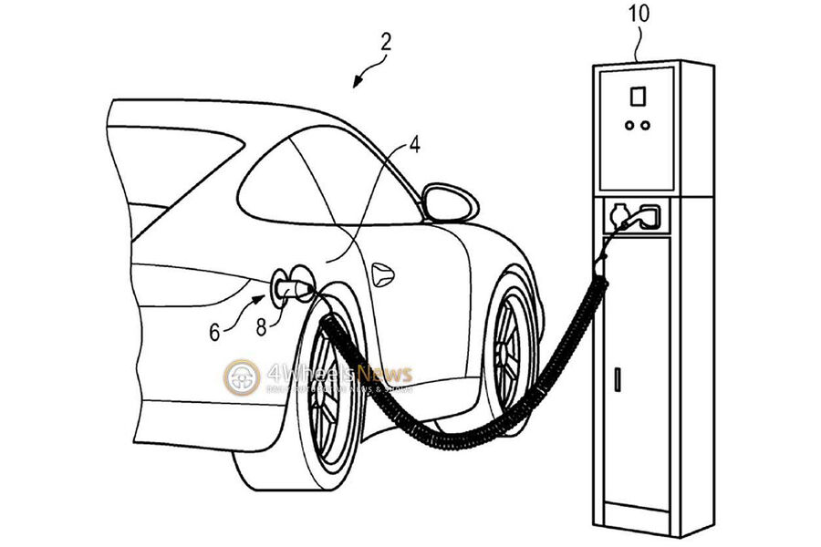 aufgeschnappt   porsche 911 als plug-in hybrid