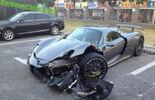 Porsche 918 Crash