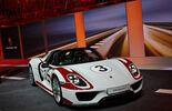 Porsche 918 Spyder, Genfer Autosalon, Messe 2014