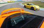Porsche Cayman GT4, Lotus Exige S, Nürburgring