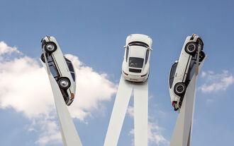 Porsche-Skulptur Inspiration 911