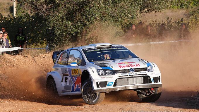 Rallye Spanien, Tag 2