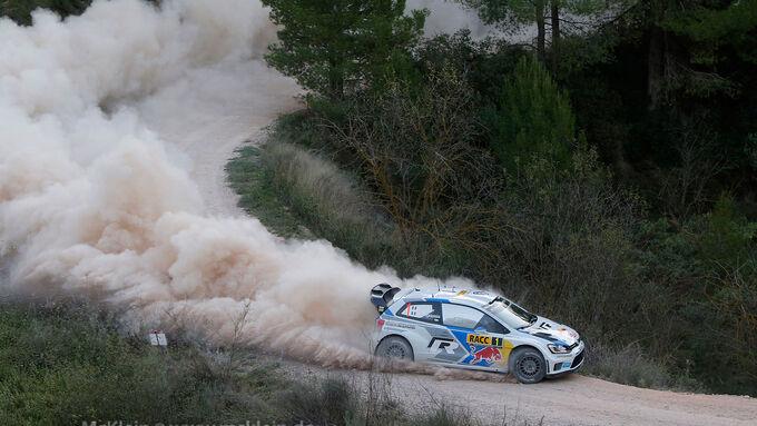 Rallye Spanien, Tag 1