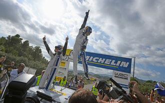 Rallye Spanien, Tag 3