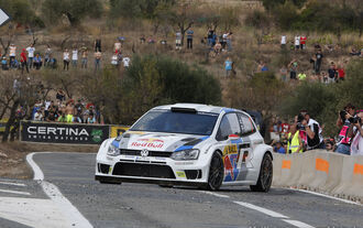 Rallye Spanien, Latvala, VW Polo