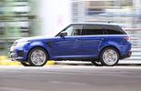 Range Rover Sport SVR, Seitenansicht