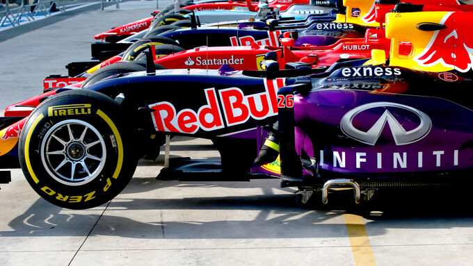 Red Bull - GP Brasilien 2015