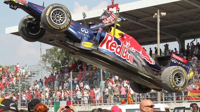 Red Bull RB7 Monza GP Italien 2011