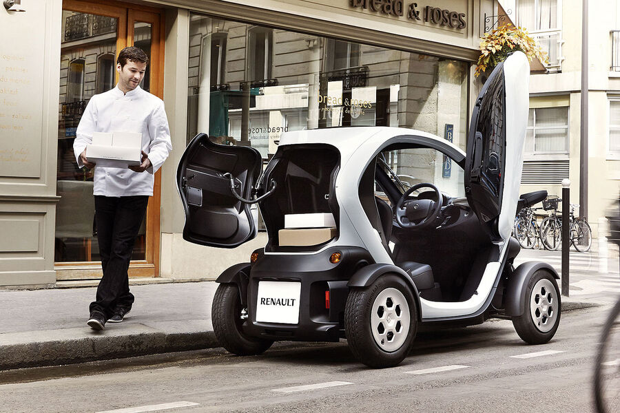 renault twizy cargo das elektro pizza taxi ist da bildergalerie bild 6 auto motor und sport. Black Bedroom Furniture Sets. Home Design Ideas