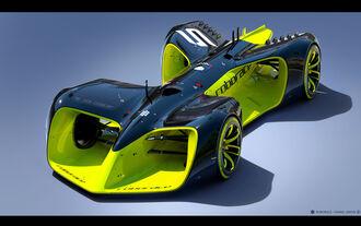 Roborace Robocar, Formel E 2016, Autonomes Fahren