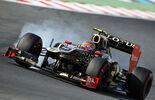 Romain Grosjean Verbremser GP Korea 2012