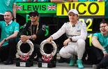 Rosberg Hamilton - GP China 2015