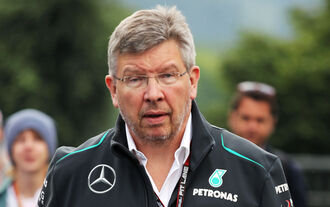 Ross Brawn - Mercedes - Formel 1 - GP Belgien - Spa Francorchamps - 23. August 2013