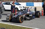 Sauber - Crash - Jerez Test 2014