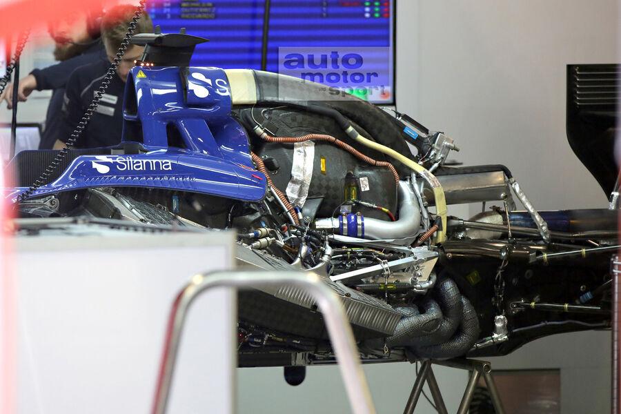 Sauber-Ferrari-Formel-1-Test-Barcelona-2