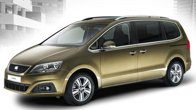 seat alhambra erster blick auf den neuen van auto motor. Black Bedroom Furniture Sets. Home Design Ideas