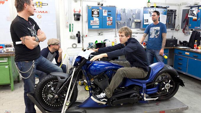 Sebastian Vettel - Bikes der F1-Piloten