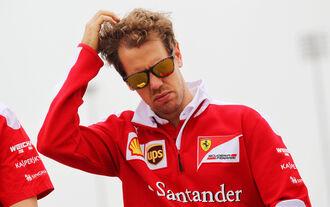 Sebastian Vettel - Ferrari - Formel 1 - GP Bahrain - 31. März 2016