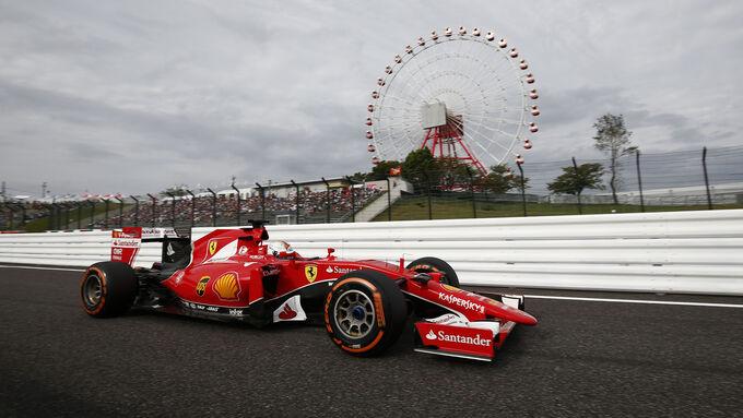 Ferrari holt auf