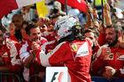 Vettel zieht mit Senna gleich