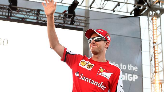 Vettel über Duell mit Mercedes