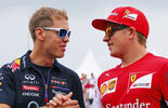 Sebastian Vettel Kimi Räikkönen - Formel 1 2014