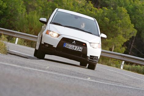 Serienfahrzeuge Kleinwagen - Mitsubishi Colt CZT