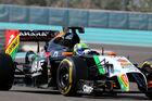F1 Test Abu Dhabi 2 (Ergebnis)