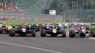 Start - Formel 3 EM - Imola - 2014
