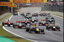 Start GP Brasilien 2011