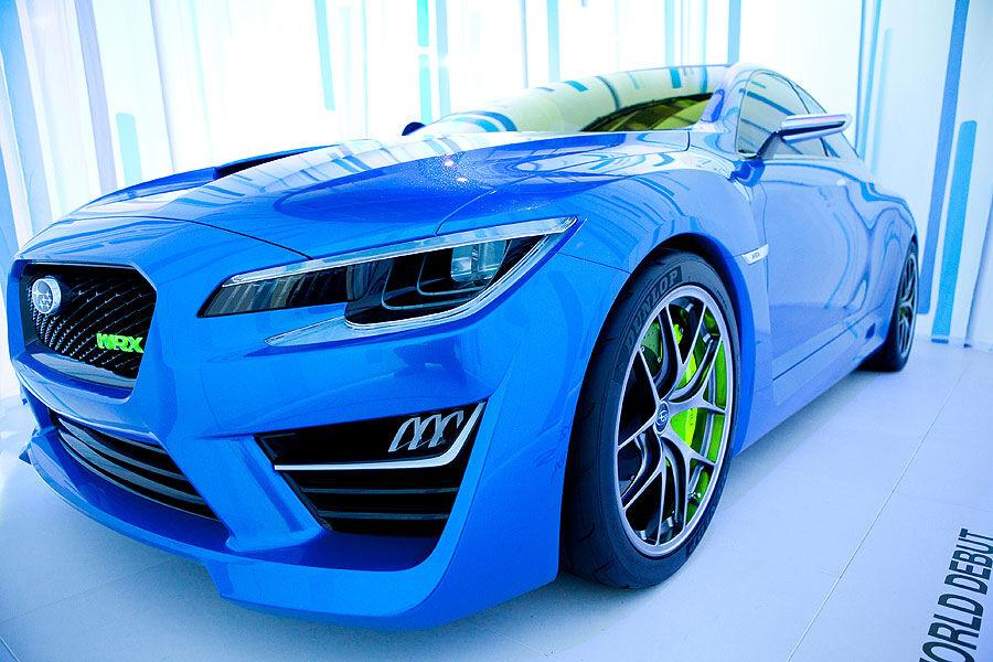 subaru wrx concept auf der new york auto show ist das der neue allrad sportler auto motor. Black Bedroom Furniture Sets. Home Design Ideas