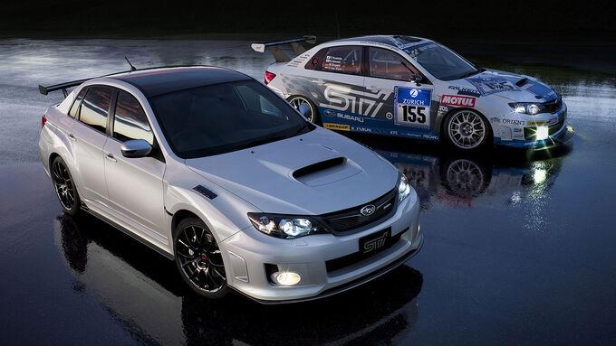 Subaru WRX STI-Sondermodell S206 Nürburgring Challenge