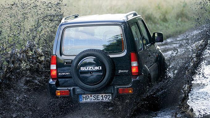 Suzuki Jimny Geländewagenkatalog