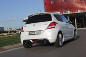Suzuki Swift Sport, Heck