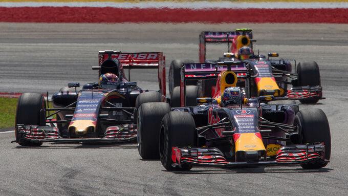 Red Bull hadert mit Bremsen
