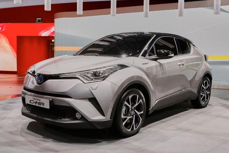 Toyota CHR 2016: Kleiner CrossoverSUV  Auto Motor und Sport