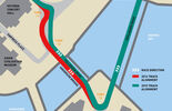 Umbau GP Singapur 2015